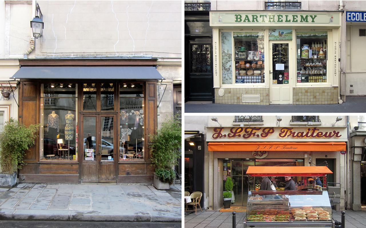 Paris Store Fronts FRCH Creative Fuel