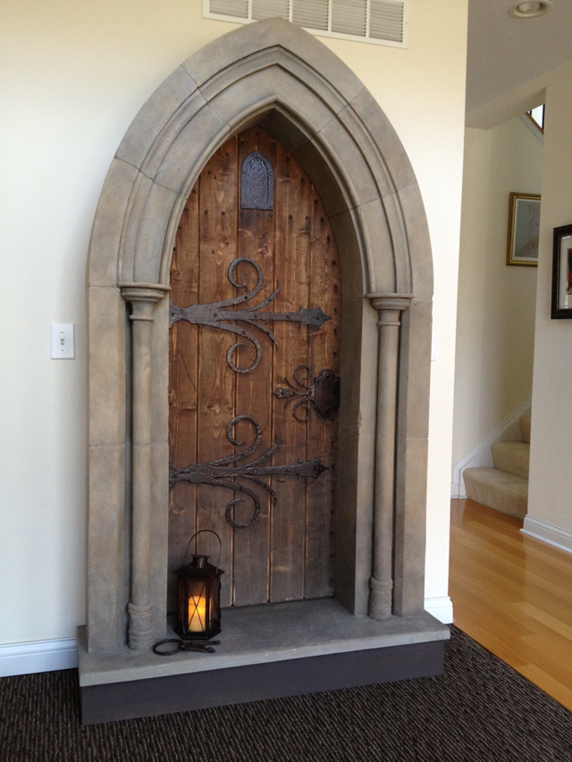 Now That You Have Two Prop Cannons And A Pirate Skeleton, Why Not A  Medieval Doorway To Accent Your Home, Provide A Bit Of Mystery And Leave  Your Guests ...