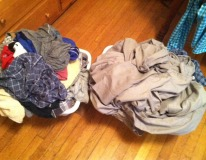 "Took care of the ""a little"" dirty laundry"