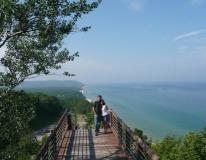Went kitesurfing in Lake Michigan