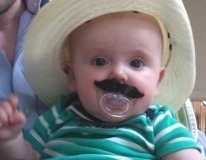 Dressed up my nephew ... best aunt ever!