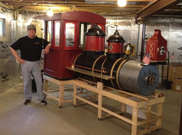 PDF Plans Steam Train Model Building toy story train scene ...