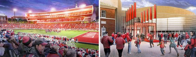 Adding People to Renderings, Creative Fuel, Nippert Stadium