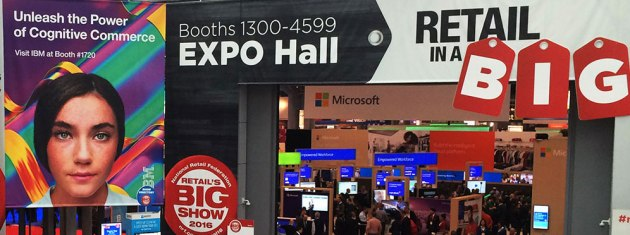 Sights and Sounds from NRF (Day One)