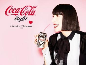 Diet Coke, Chantal Thomas, Brand Collaboration, FRCH Creative Fuel