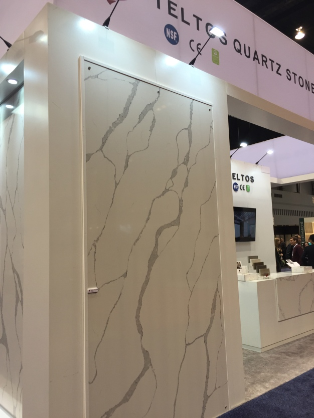 Coverings 2016, quartz