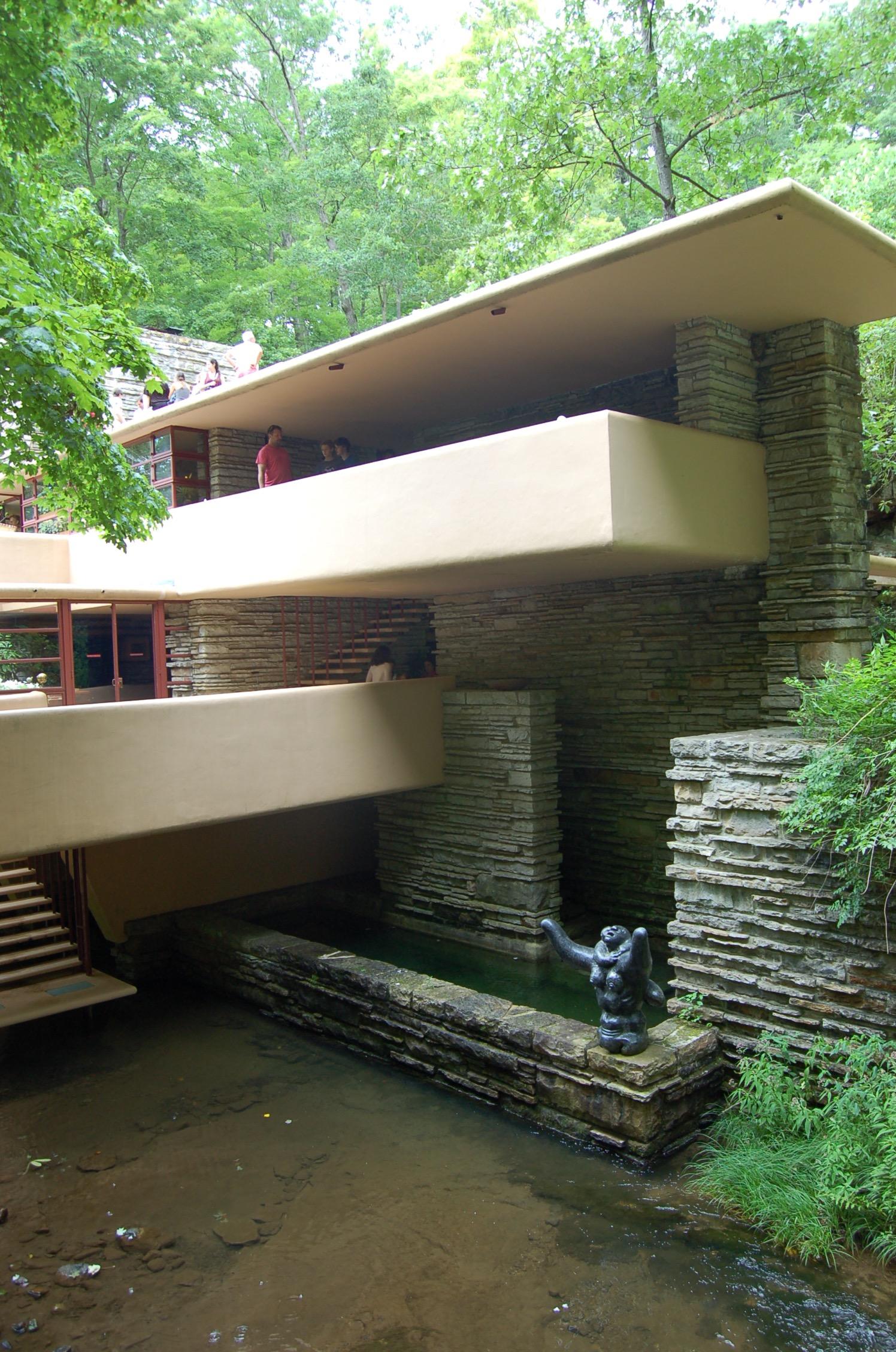 Fallingwater Frank Lloyd Wright S Architectural