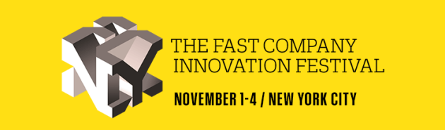 Fast Company, Innovation Festival, NYC, FRCH Creative Fuel