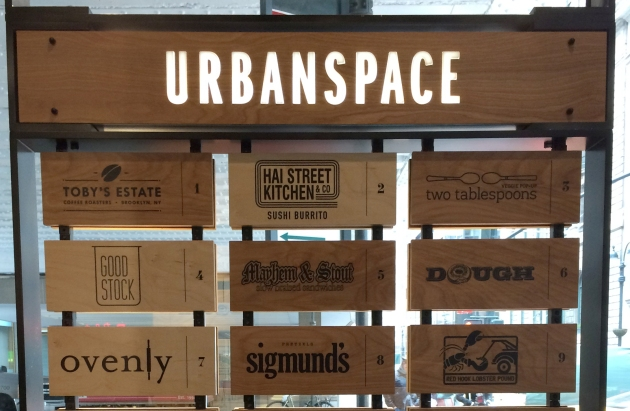 UrbanSpace, NYC, FRCH Creative Fuel