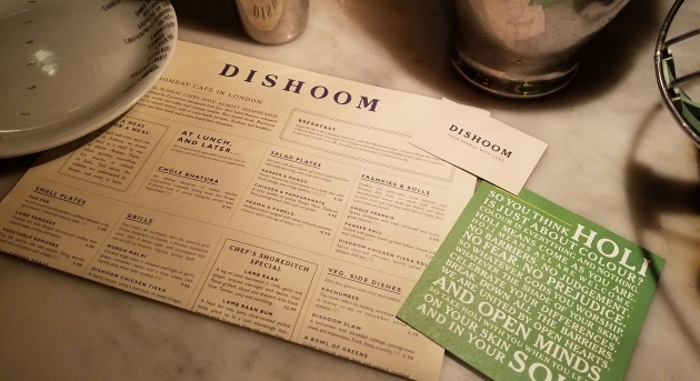 Dishoom Bombay Cafe, London