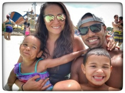 Brandon Roberts: The family enjoying a trip to Kings Island!