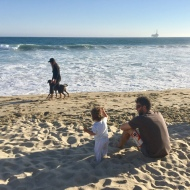 Felipe Bermúdez: Enjoying some beach time with the family