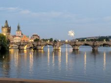 John Seta: Spent the holiday in Prague