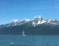 Kristina Phillips - visiting family in Alaska, including Kenai Fjords National Park. Here is Resurrection Bay