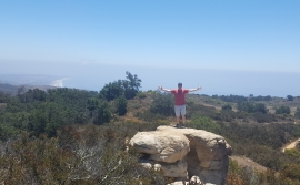 Mark Levine: The 3rd was spent at Charmlee State Park in Malibu...great view, beautiful day!