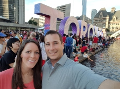 Nathan Kinney: Exciting weekend traveling with my fiance to Toronto for Canada's 150th Birthday on July 1st and enjoying Niagara Falls!