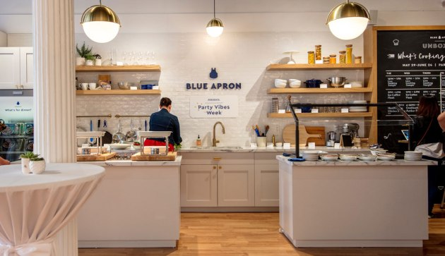 "See Something New. Blue Apron ""Unboxed"""